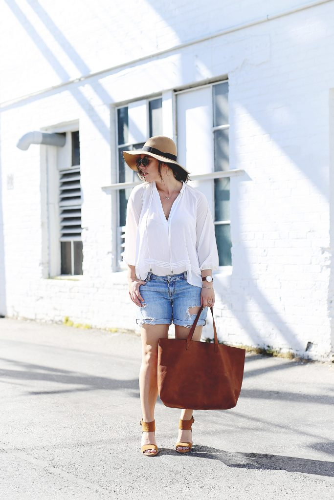 Weekend casual summer outfit