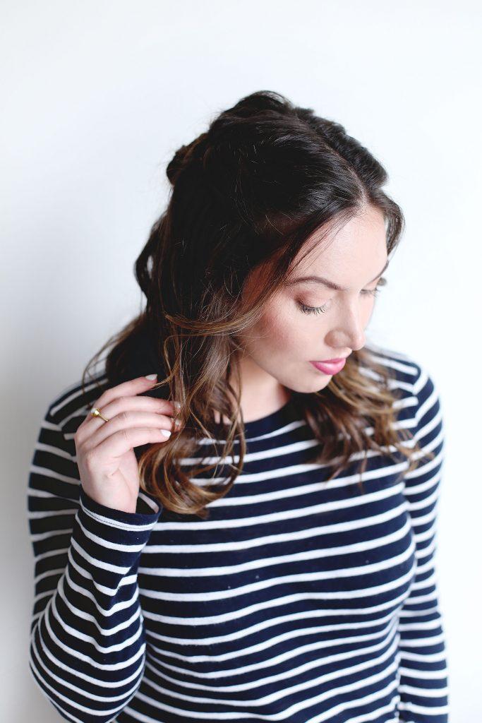 Half-up hair tutorial ideas