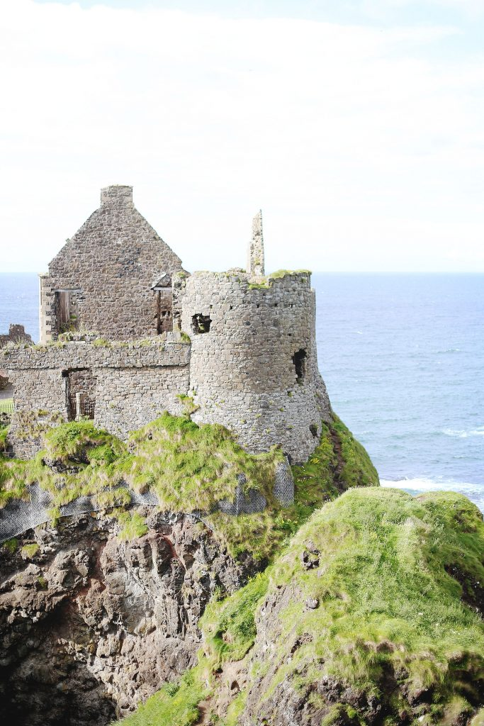 Visiting Dunluce Castle, Northern Ireland