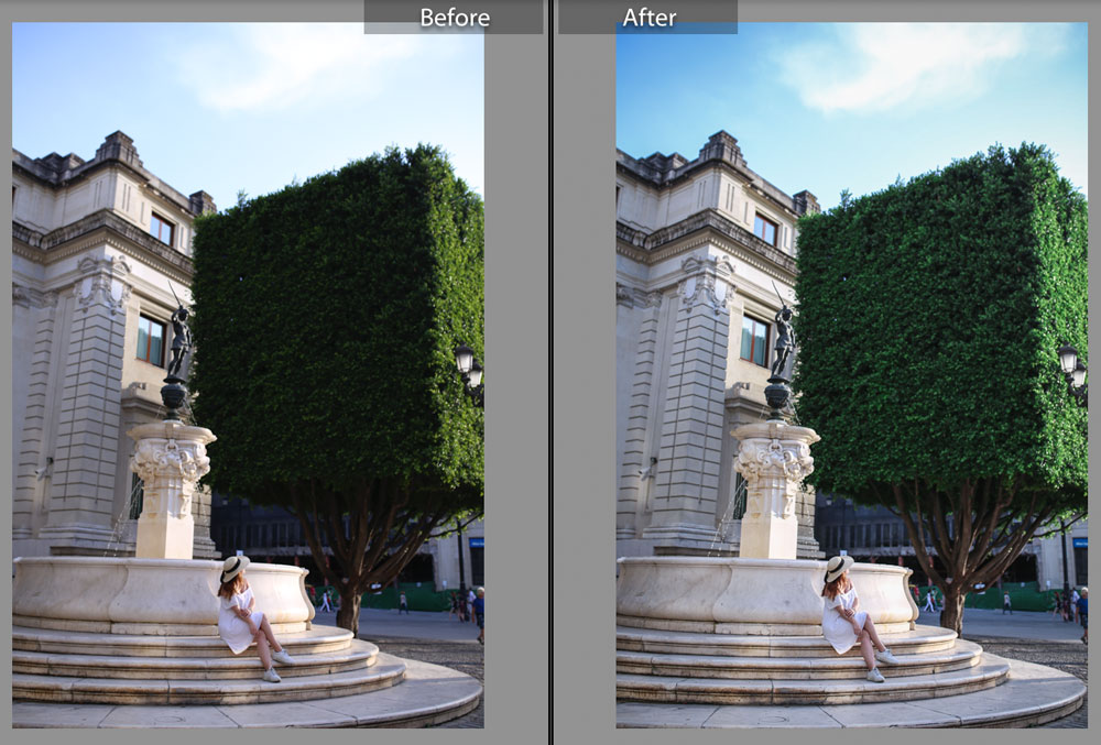 lightroom editing tips for beginners, best lightroom edits for travelling, best lightroom presets for travelling, how to use lightroom for beginners, best instagram editing tips by To Vogue or Bust