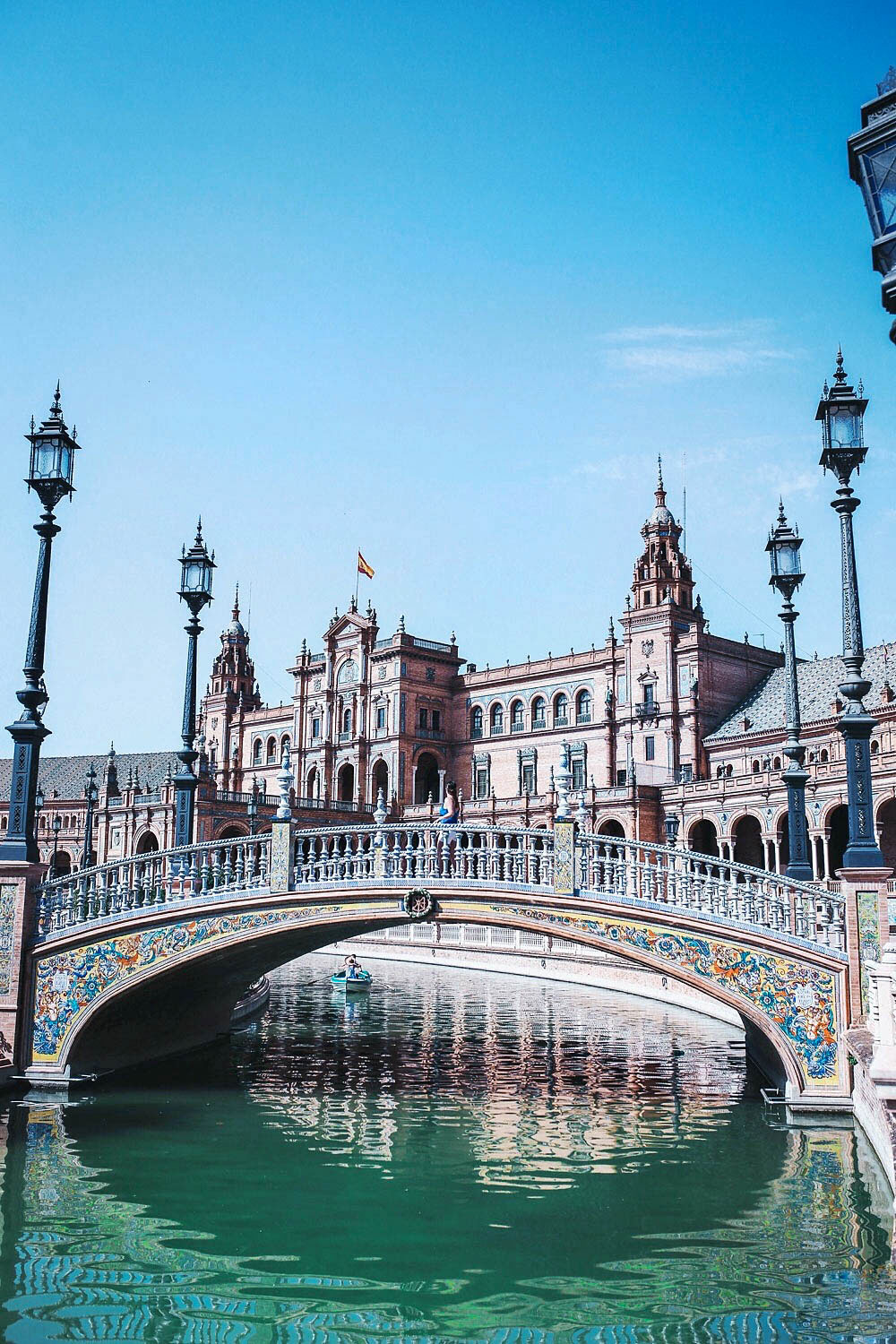 Plaza Espana travel guide Seville Spain