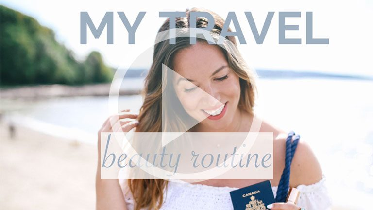 My Travel Beauty Tutorial (+ 5 Rules For Carry-On Only Packing)