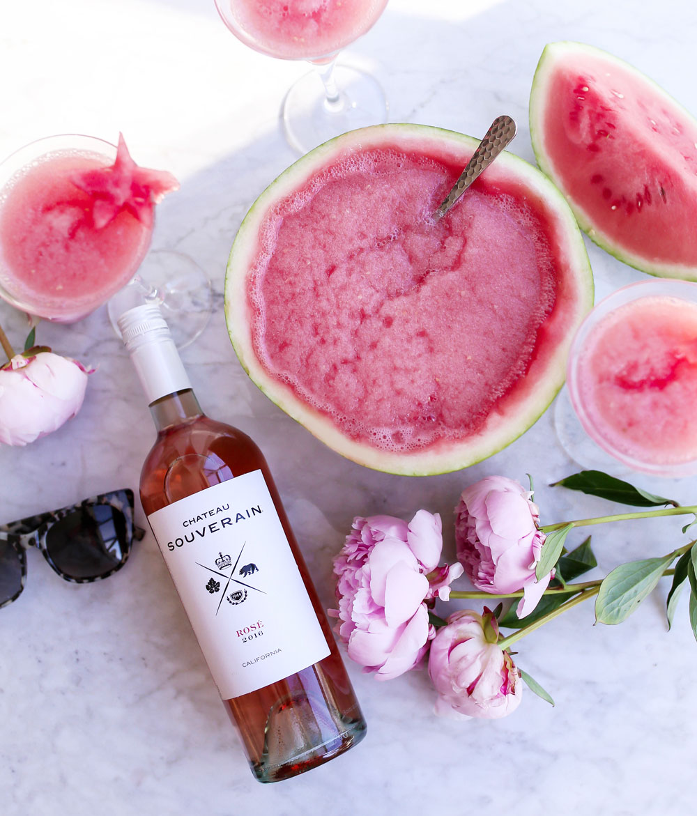 Best watermelon frose cocktail recipe by To Vogue or Bust