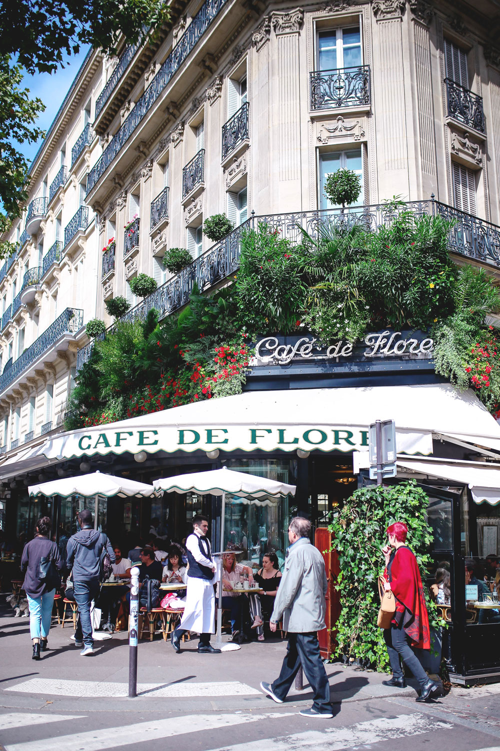 Cafe flore in paris by To Vogue or Bust