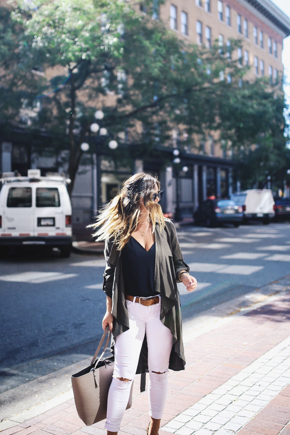 How to transition summer style into fall by To Vogue or Bust