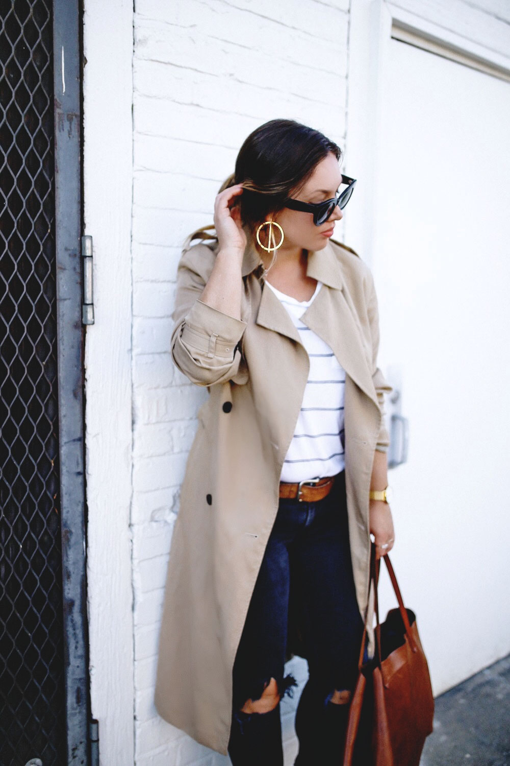 How to style statement earrings for fall in joe fresh by To Vogue or Bust