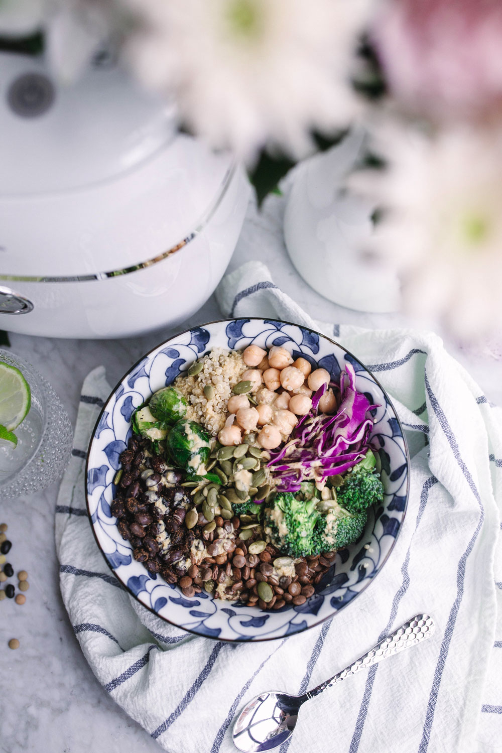 vegan abundance bowl recipe by To Vogue or Bust