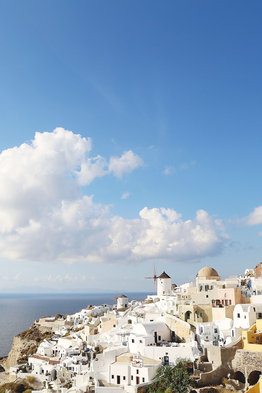 best view in santorini by To Vogue or Bust