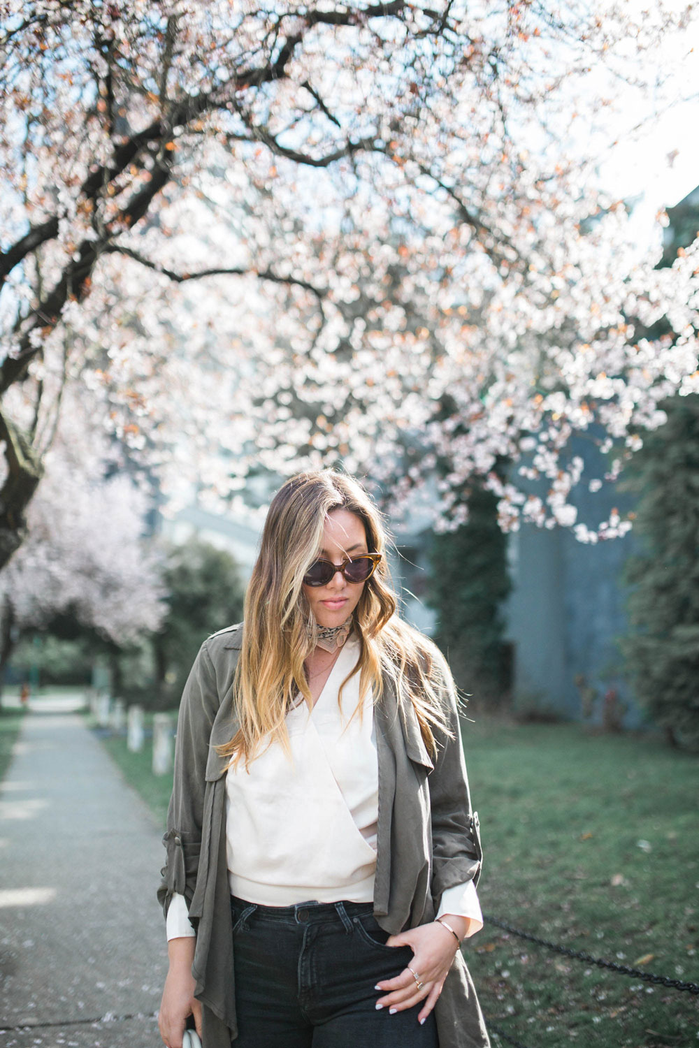 spring transition style in madewell cate eye sunglasses by To Vogue or Bust