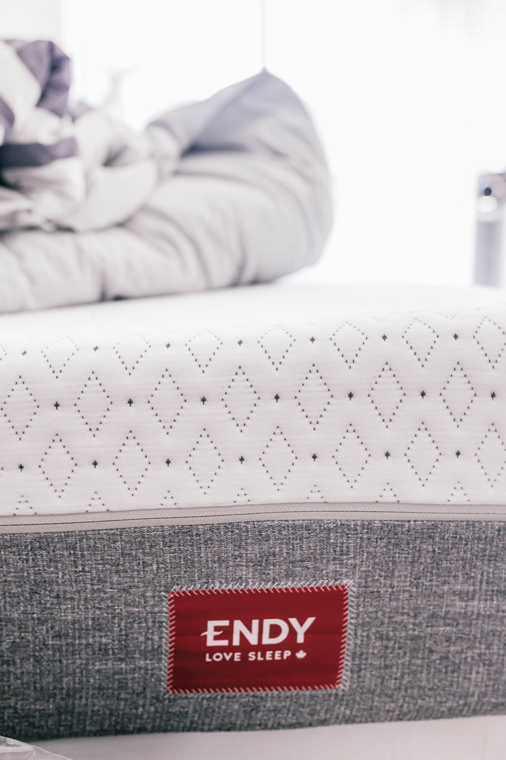 endy mattress review by To Vogue or Bust
