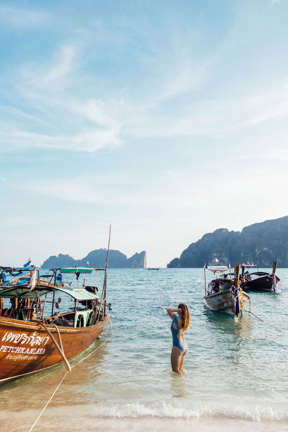 beaches koh phi phi thailand by To Vogue or Bust
