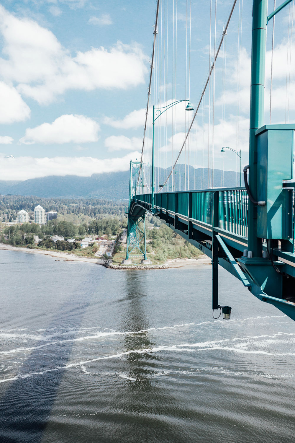 lions gate bridge vancouver by To Vogue or Bust