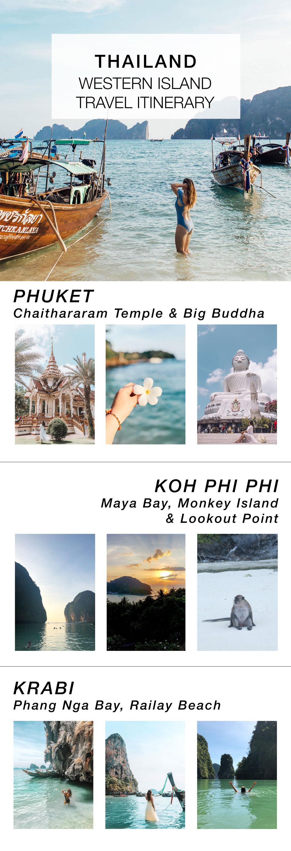 Thailand West Island Travel Itinerary