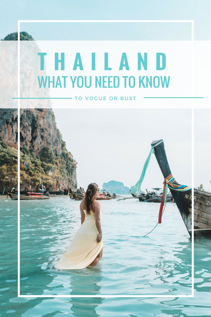 thailand travel tips by To Vogue or Bust