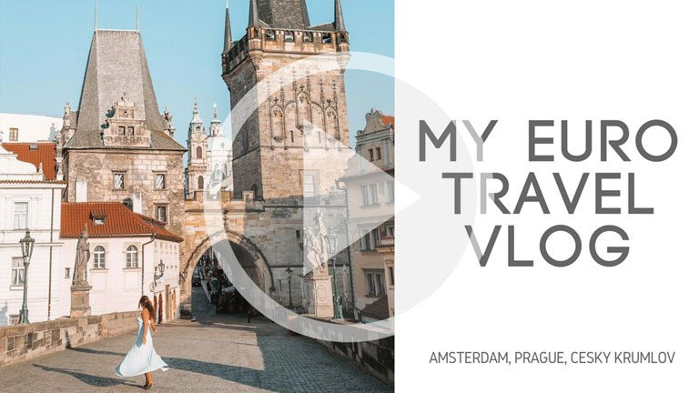 My Euro Adventures in Amsterdam, Prague & Český Krumlov