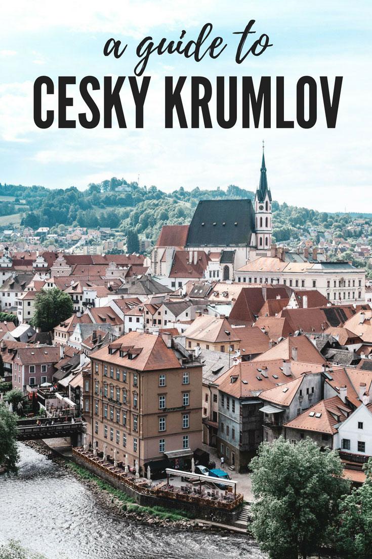 Cesky Krumlov travel guide