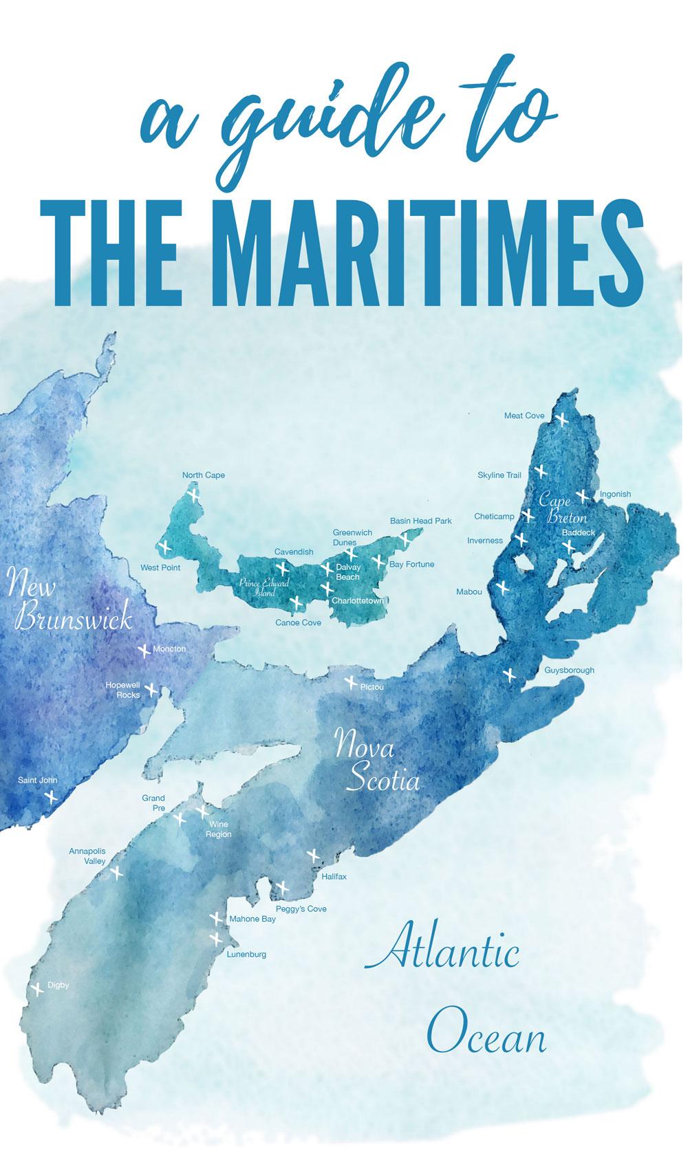 Maritimes travel guide