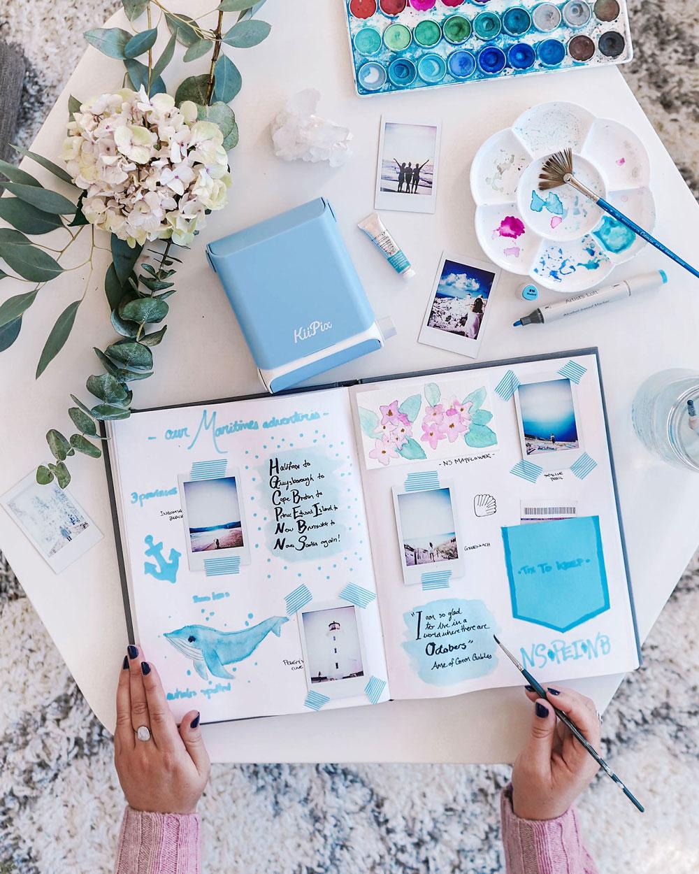 Travel journal ideas