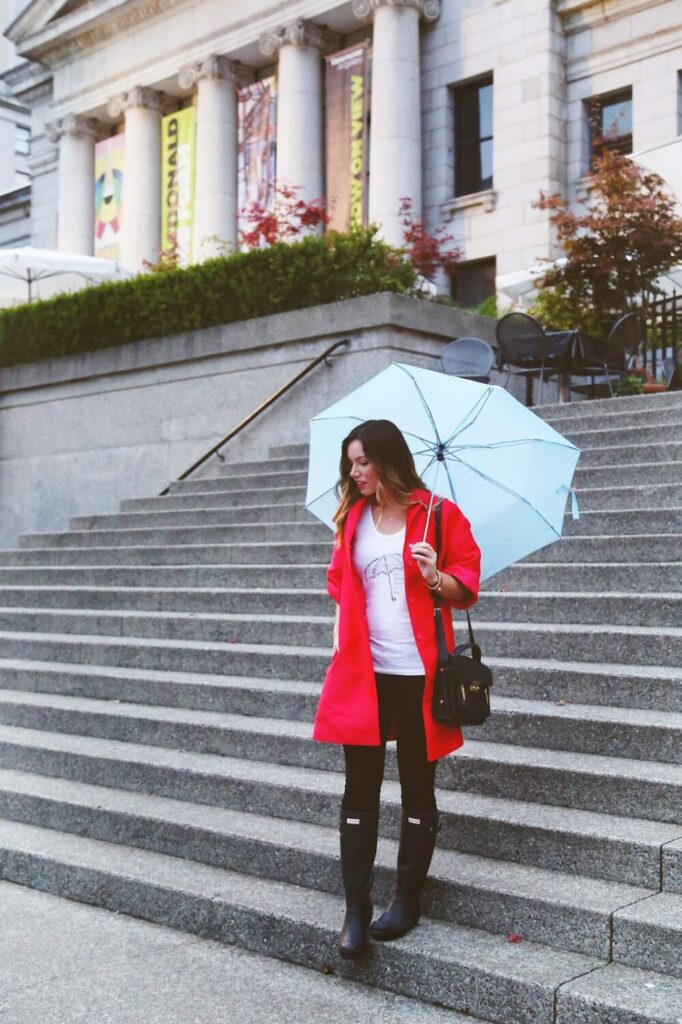to vogue or bust, vancouver style blog, vancouver fashion blog, vancouver travel blog, canadian fashion blog, canadian style blog, canadian travel blog, alexandra grant, fall style, what to wear in the rain, cute rainy day style, how to style rain boots, rain boot style, rainy day style, how to style hunter boots, hunter boots, hudson jeans skinny jeans, eluxe connected collection, it's raining chanel and dior, 424 fifth satin coat, 3.1 phillip lim bag, best fashion blog, best style blog, blogs to follow, top fashion blog, top style blog, which style blogs to follow, fall 2014 trends, london street style, london fashion, london style blog
