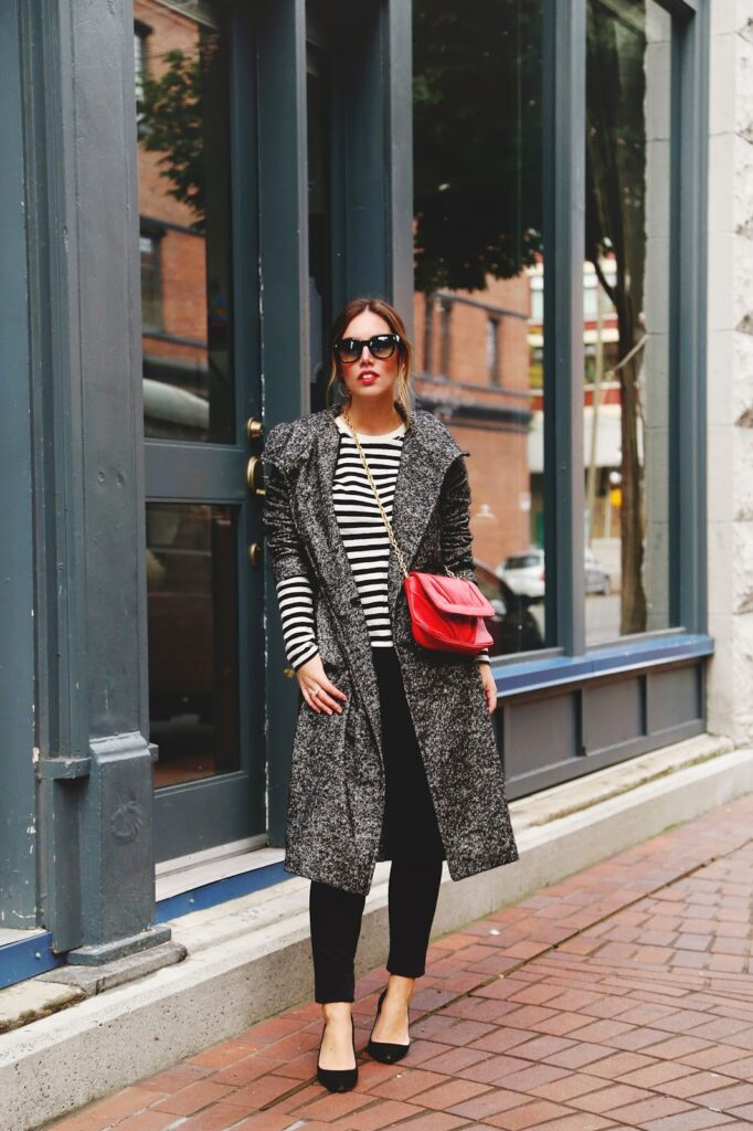 to vogue or bust, vancouver style blog, vancouver fashion blog, vancouver travel blog, canadian fashion blog, canadian style blog, canadian travel blog, alexandra grant, aritzia talula trench coat, joe fresh striped top, forever 21 skinny jeans, j.crew everly heels, mary nichols purse, vintae sunglasses, parisian style rules, how to dress like a parisian, parisian style, parisian chic, fall 2014 trend report, parisian style 101, top fashion blogs, top style blogs, best fashion blogs, best style blogs