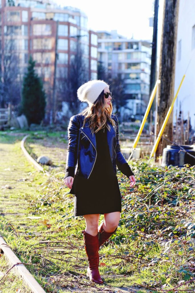 to vogue or bust, vancouver style blog, vancouver fashion blog, vancouver travel blog, vancouver health blog, vancouver fitness blog, canadian fashion blog, canadian style blog, canadian lifestyle blog, vancouver lifestyle blog, canadian travel blog, canadian health blog, canadian fitness blog, alexandra grant, hym bags, joe fresh sweater dress, joe fresh leather jacket, club monaco beanie, poppy barley boots, custom order poppy barley, how to style a sweater dress, how to style leopard, tips to wear leopard, how to wear a sweater dress for winter, how to wear a sweater dress, how to style a beanie, how to wear a beanie, cute winter looks, transitional weather style, best fashion blogs, best style blogs, best lifestyle blogs, best travel blogs, best health blogs, best fitness blogs, top fashion blogs, top style blogs, top lifestyle blogs, top travel blogs, top health blogs, top fitness blogs