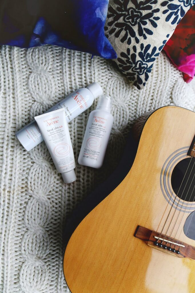 Cozying up with Avene's new XeraCalm AD line