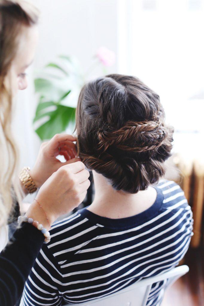 Bride hair tutorials