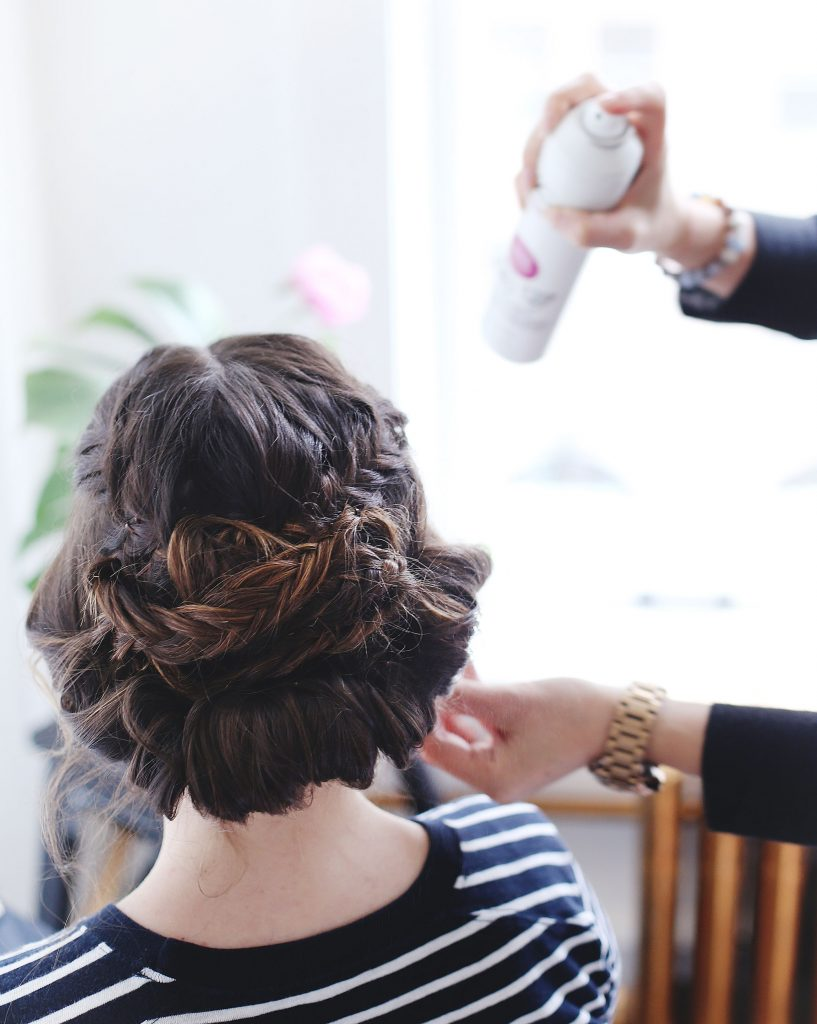 Wedding updo hair tutorial ideas