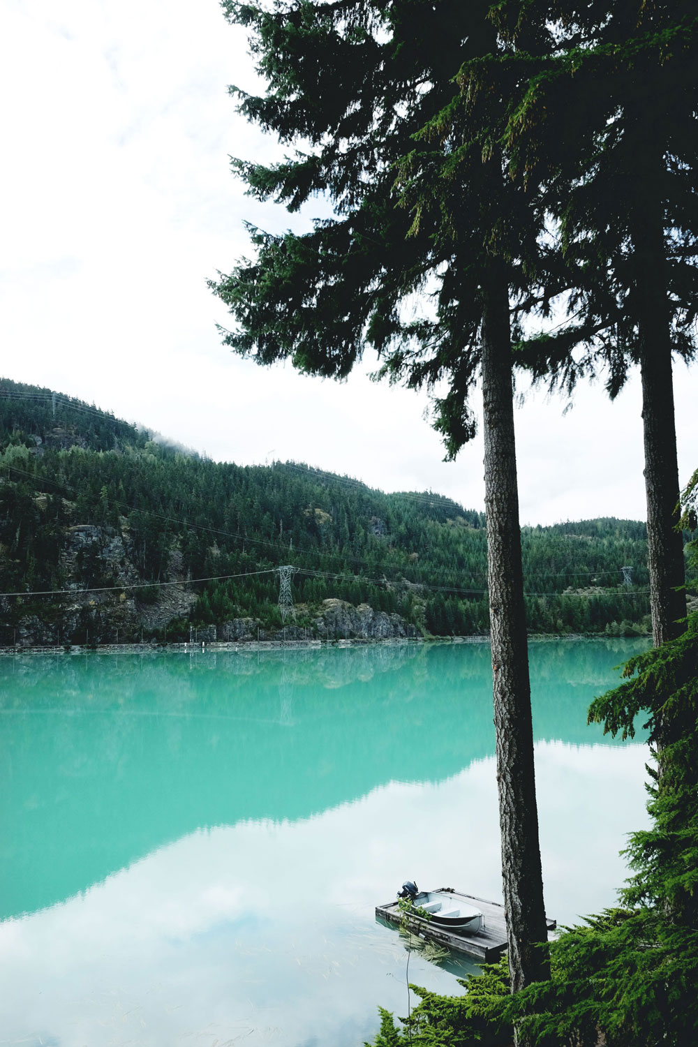 Most beautiful lakes in BC: Green Lake in Whistler, Canada