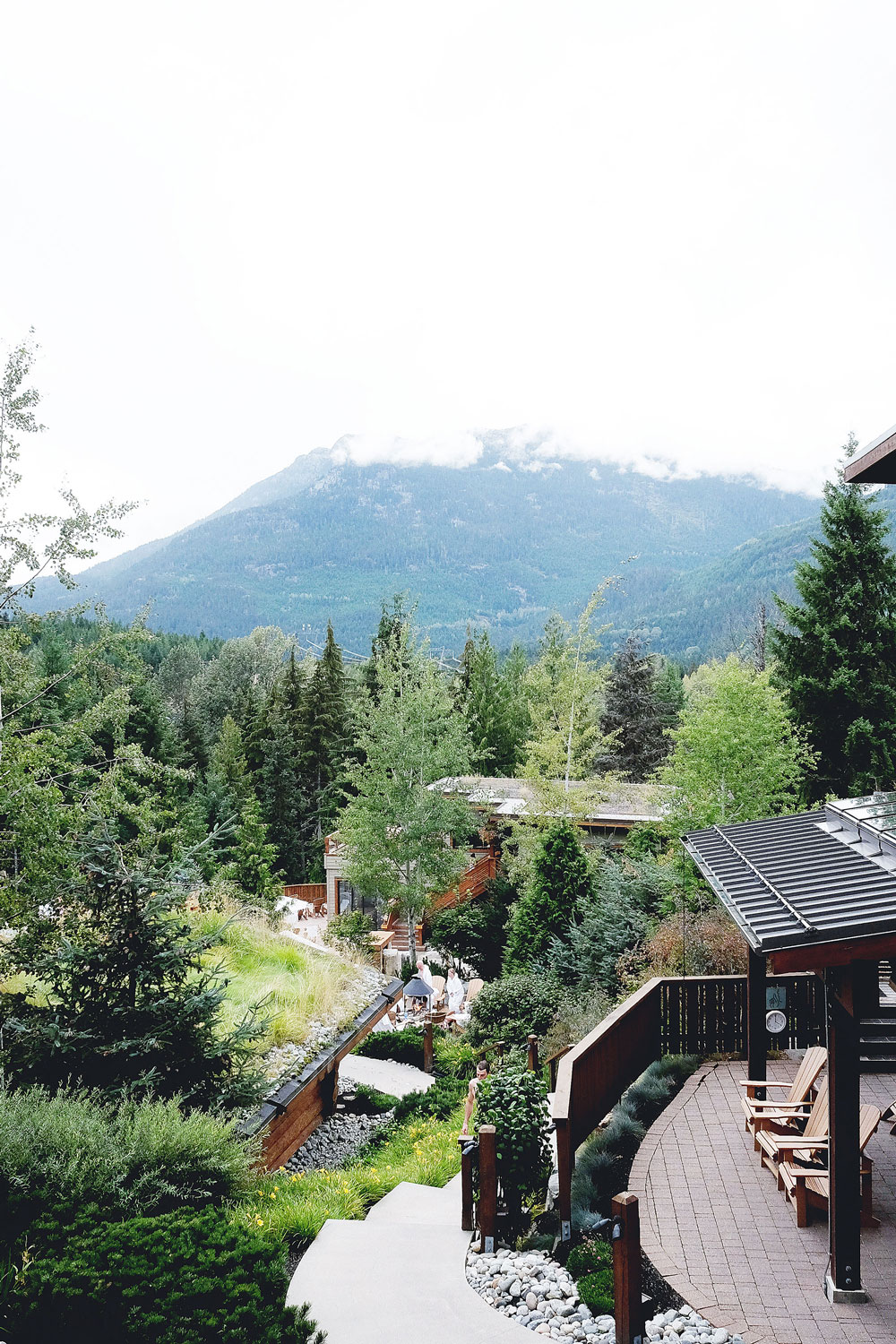 Best spas in BC: Scandinave Spa in Whistler, Canada