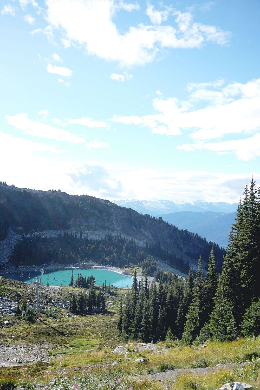 A travel guide to Whistler: peak to peak gondola at Blackcomb, Whistler