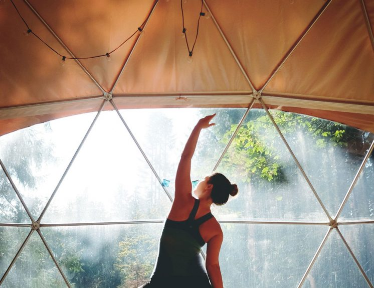 Best yoga retreats in British Columbia, Canada: Nectar Yoga B&B on Bowen Island