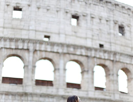 To Vogue or Bust shares Rome travel tips in her Rome travel guide in Revolve lace dress