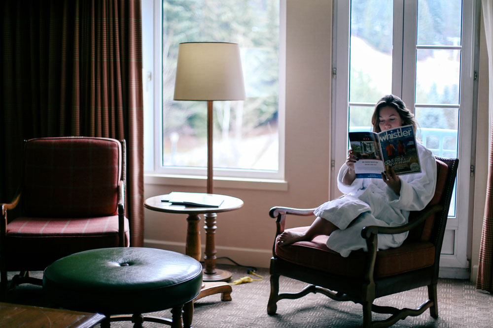 Whistler travel guide at the Fairmont Chateau Whistler with To Vogue or Bust