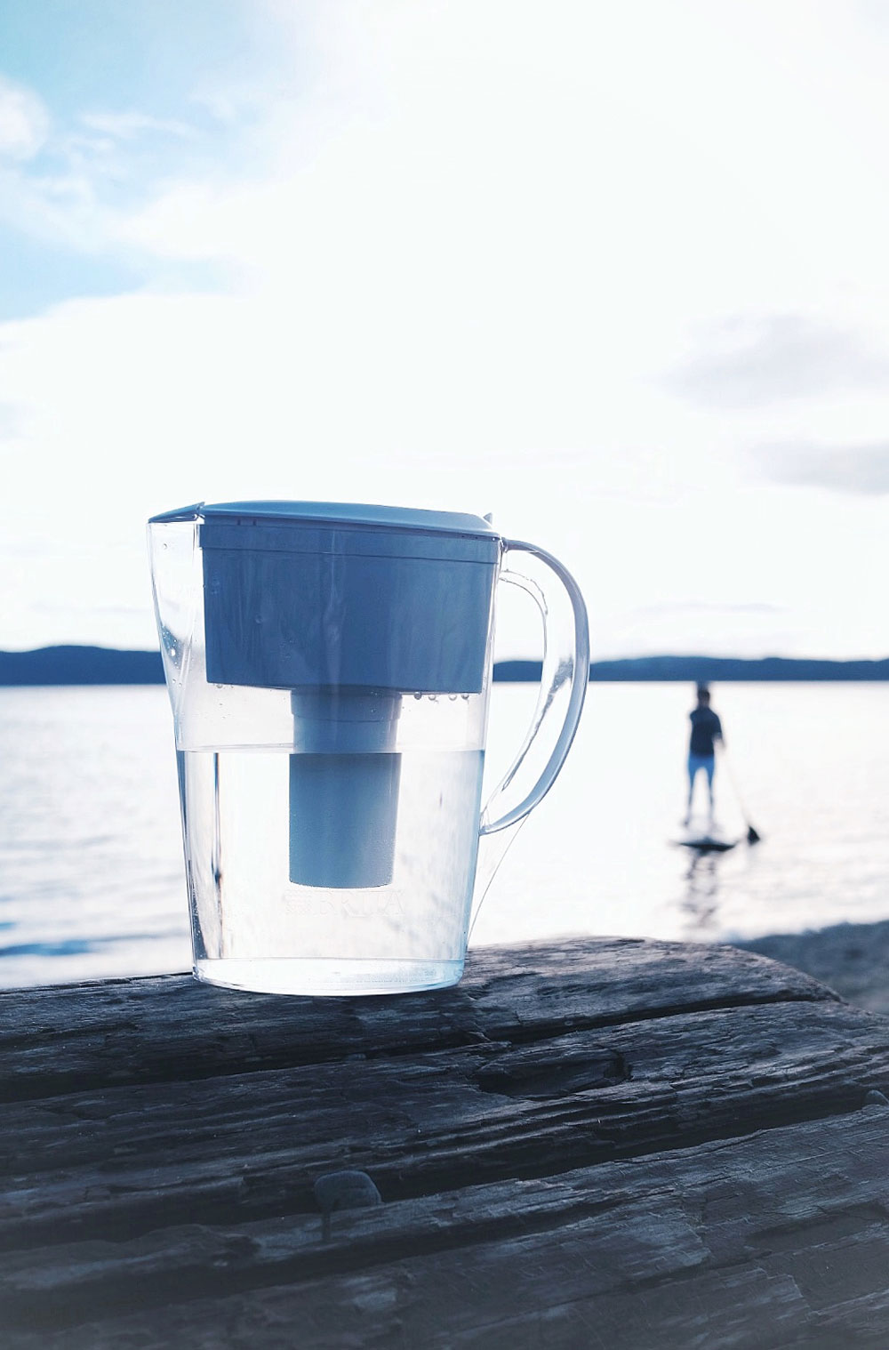 How to drink more water every day with Brita filters