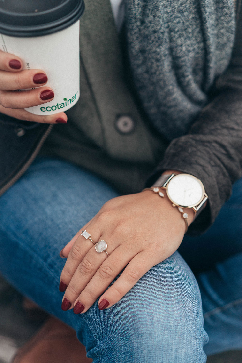 Fall outfit inspiration in daniel wellington watch by To Vogue or Bust