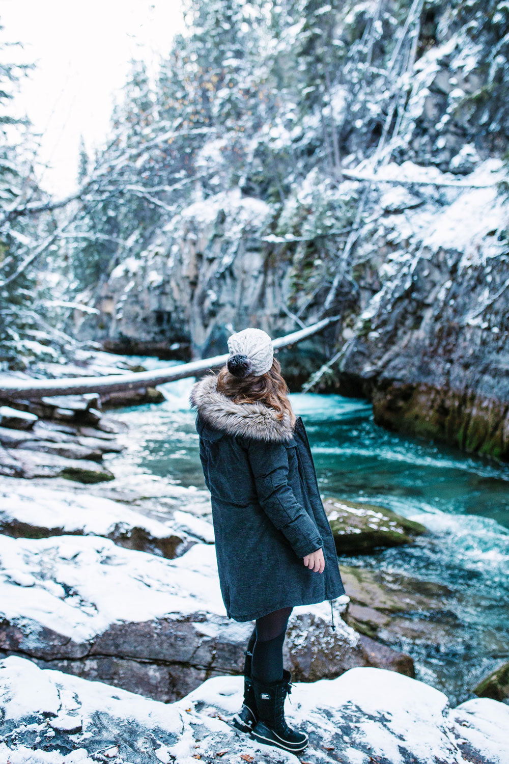 How to style a parka in aritzia community parka by To Vogue or Bust