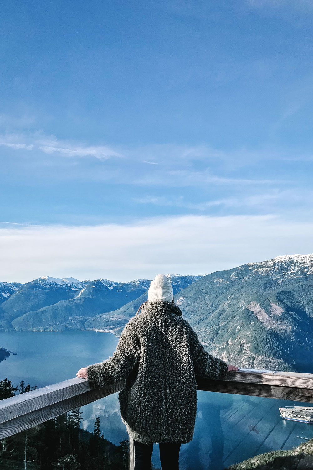 Sea to sky gondola squamish bc by To Vogue or Bust