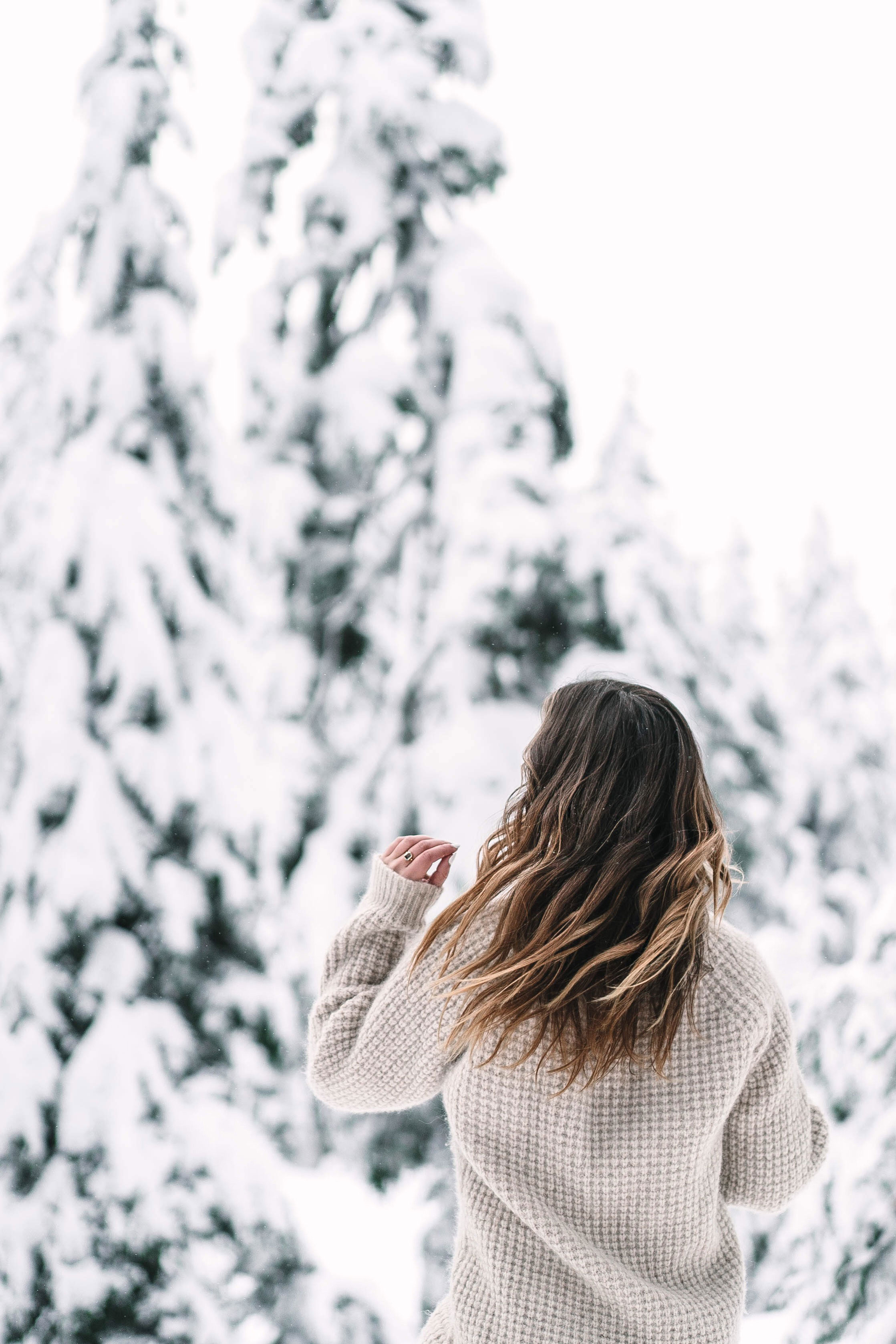 Winter hair dryness tips by To Vogue or Bust