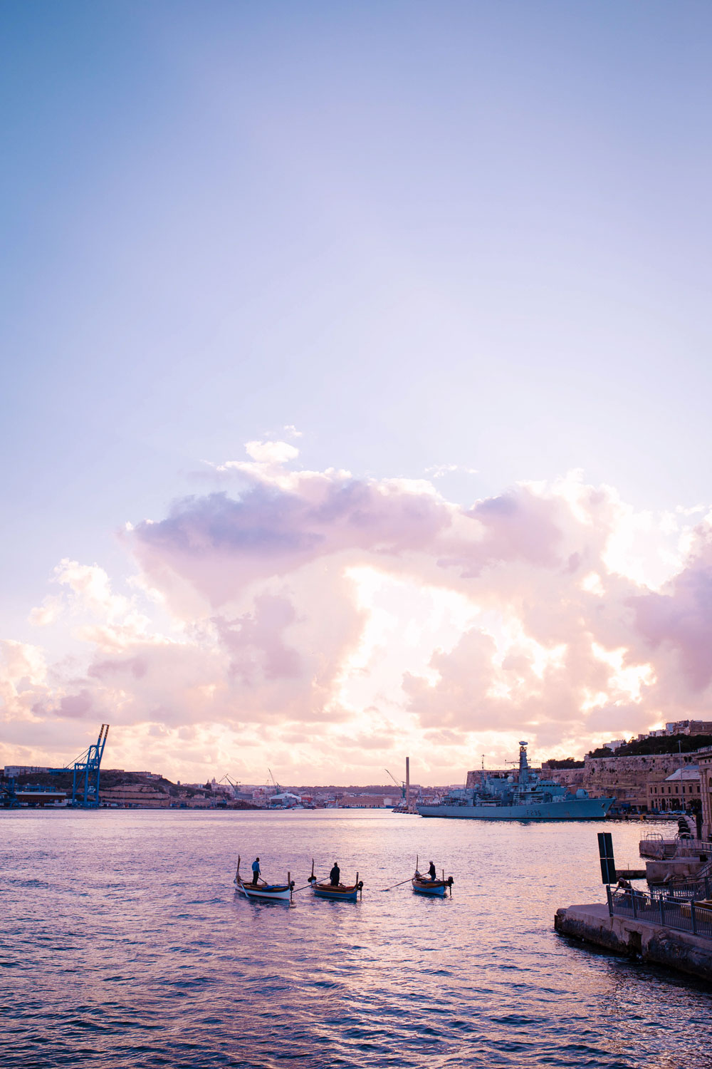 traditional fishing boat tours valletta by To Vogue or Bust