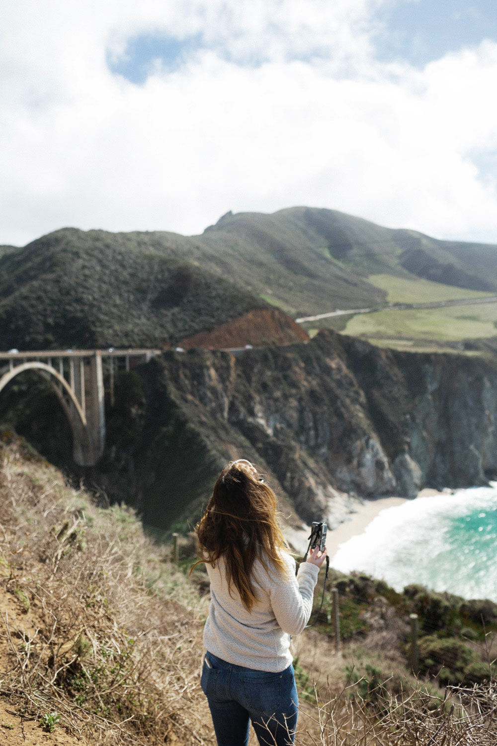 bixby street bridge california by To Vogue or Bust
