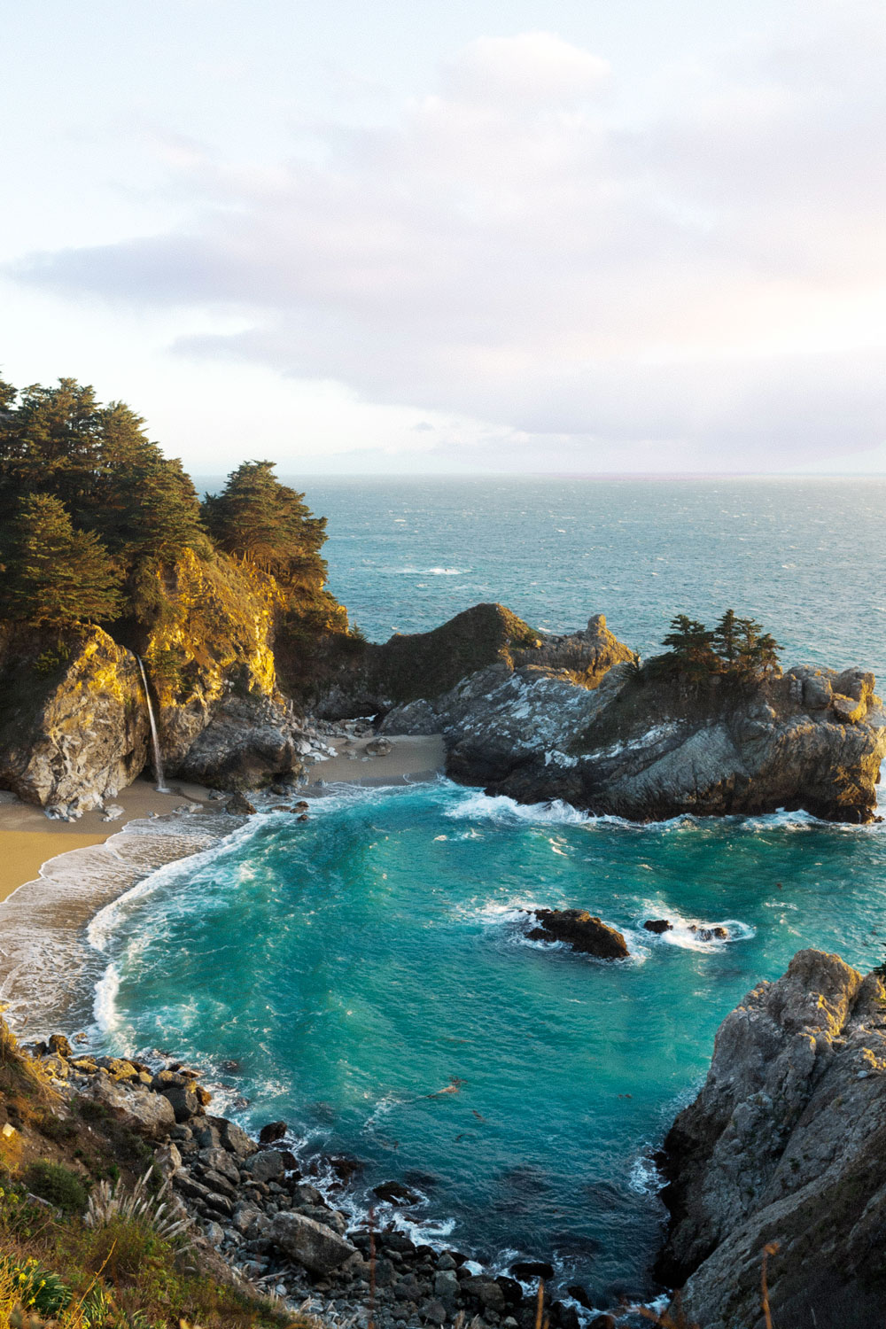 mcway falls big sur by To Vogue or Bust