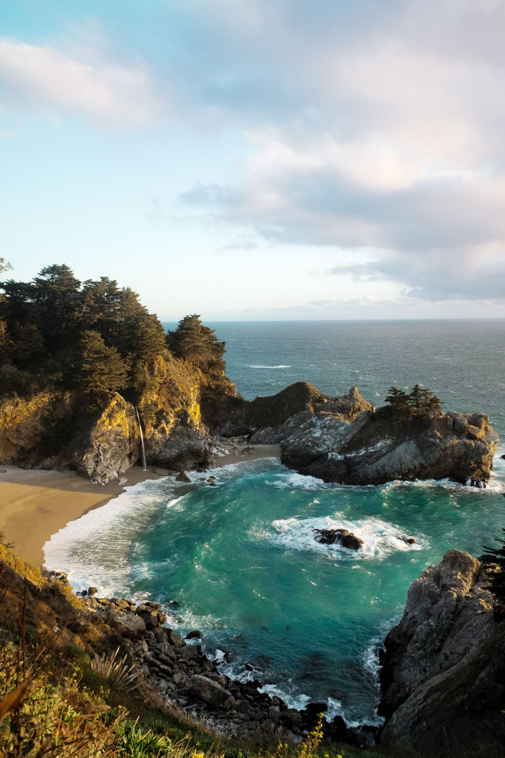 best views of mcway falls by To Vogue or Bust