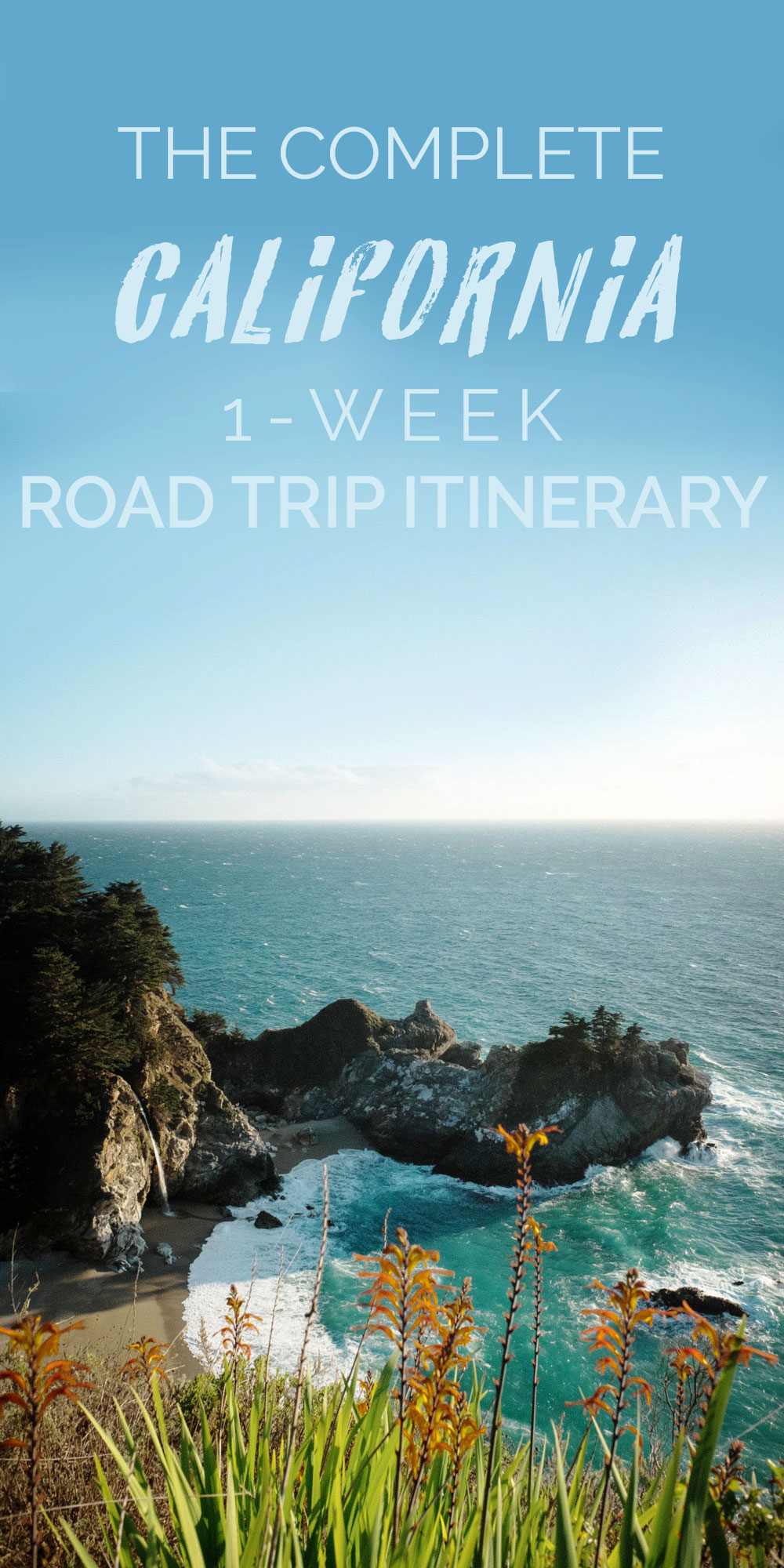 1 Week California Coast Road Trip