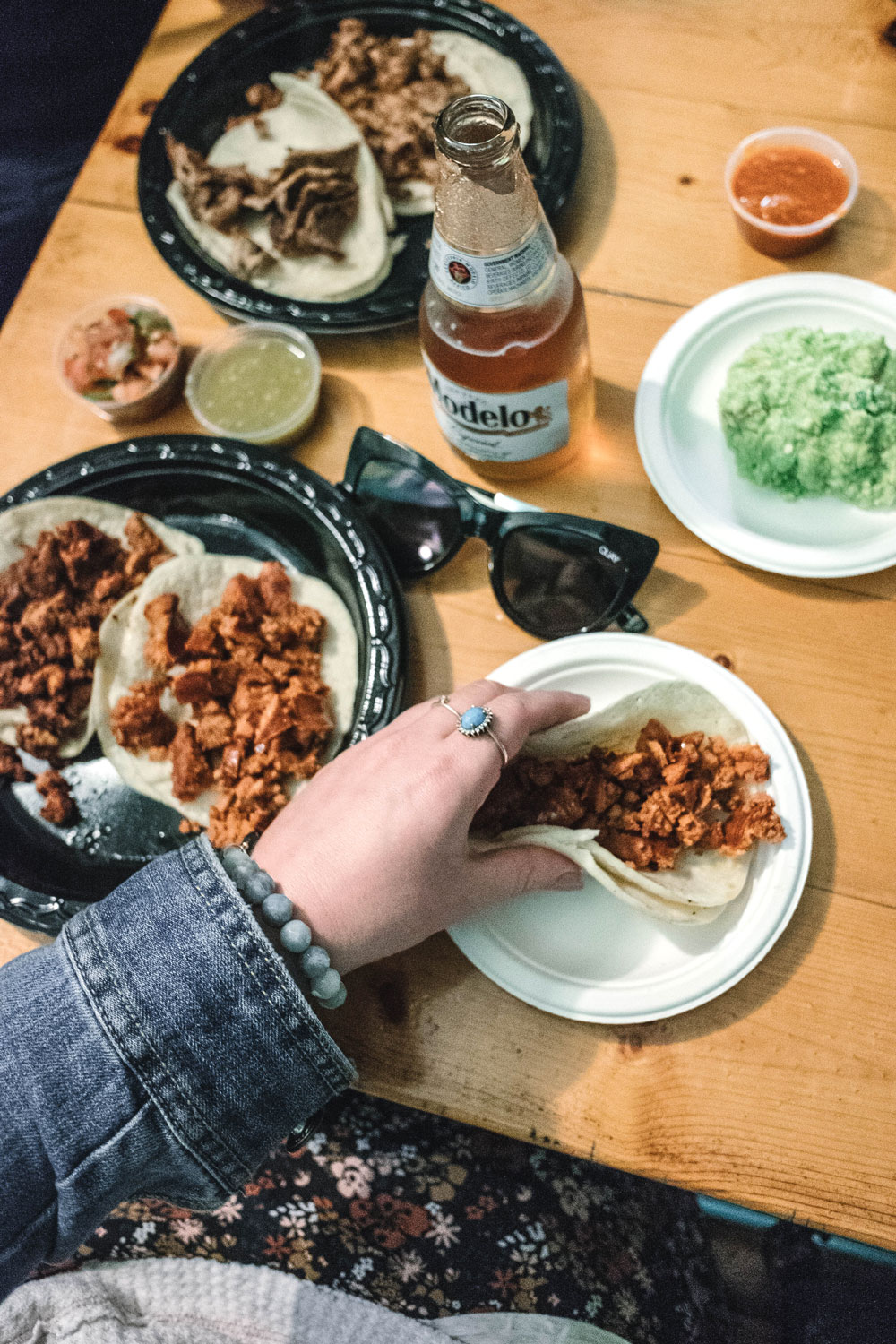 la super rica tacqueria review by To Vogue or Bust