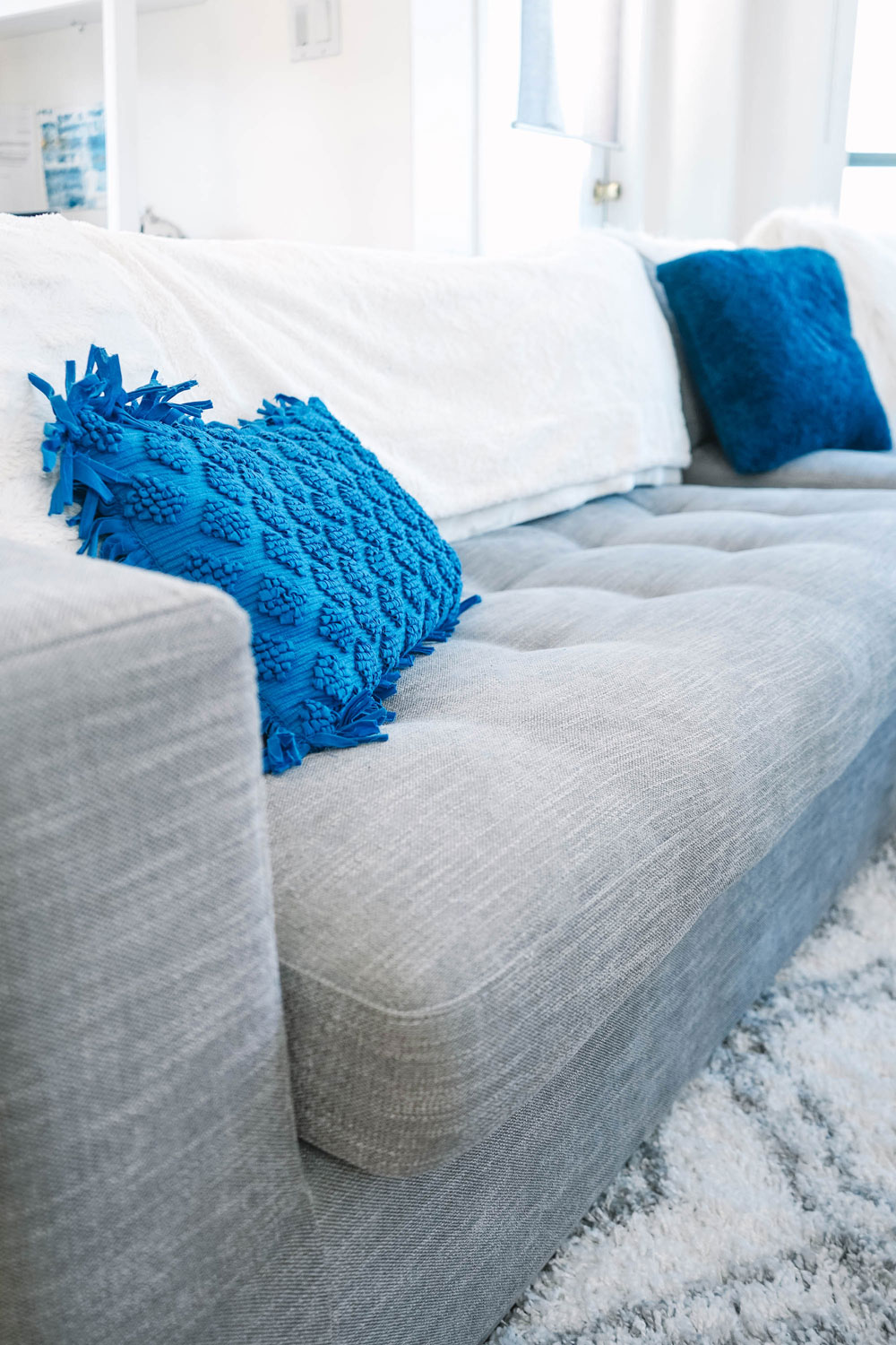 Textured Mexican pillow