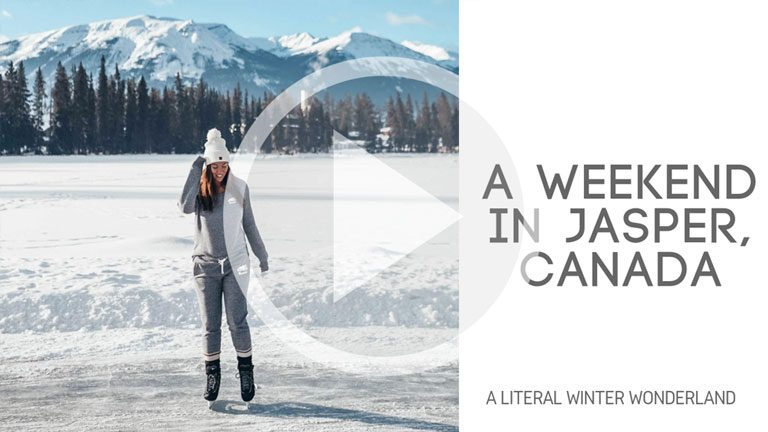 1 Weekend in Jasper, Canada