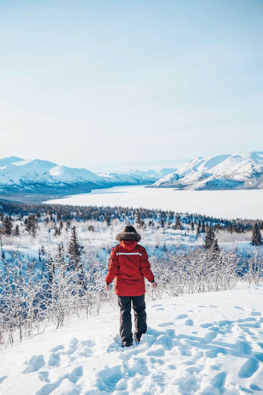 Yukon travel itinerary