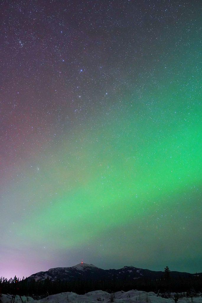 Yukon aurora tour