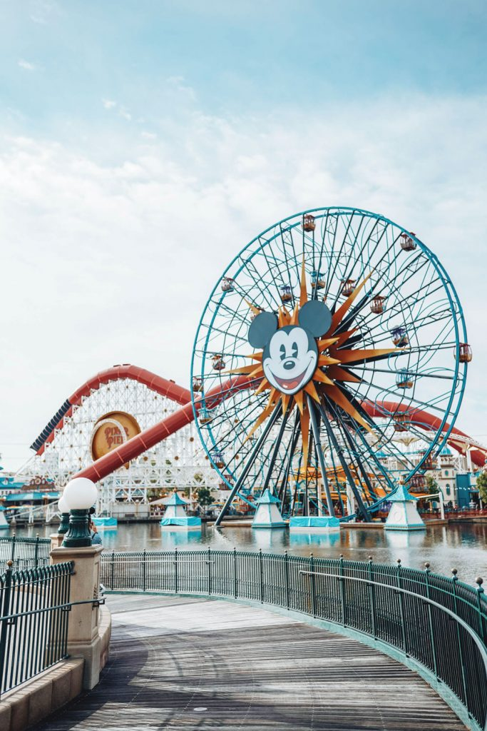 Pixar Pier Disneyland